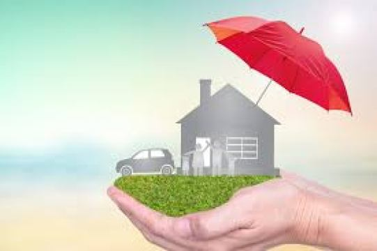 Insurance agency and life concept