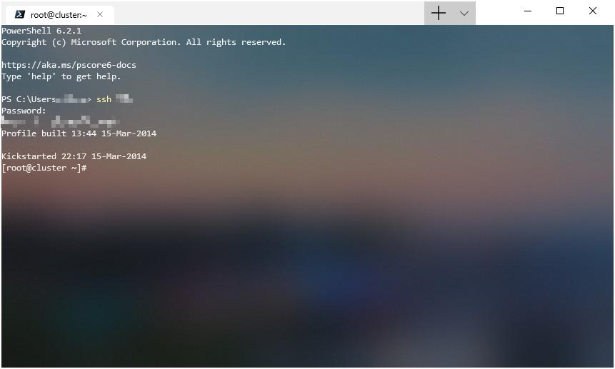 《使用Windows 10原生ssh功能管理服务器》