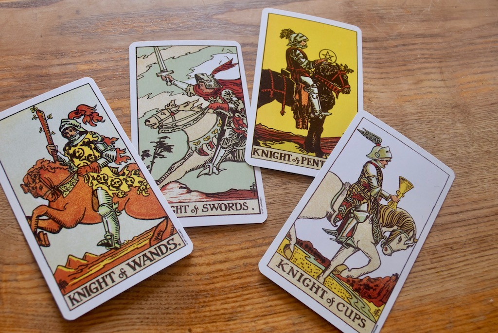 Image result for knight tarot