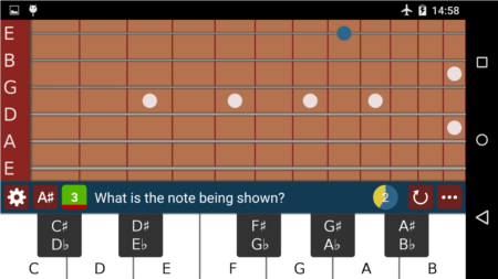 Learn Guitar Screen