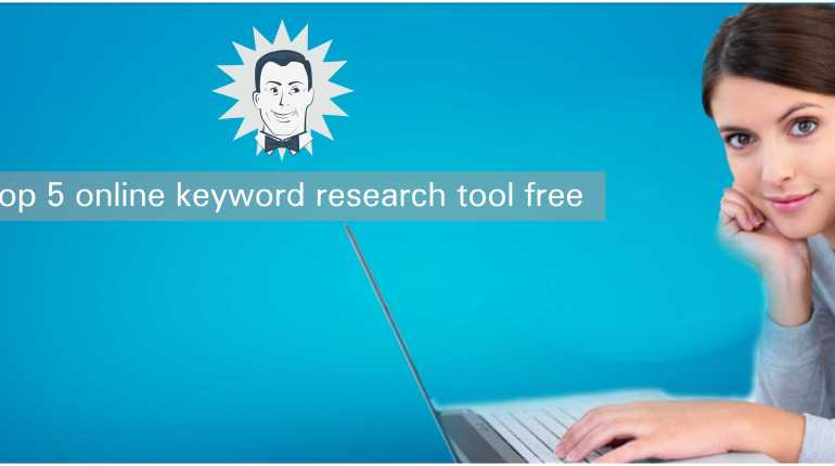 Top 5 online keyword research tool free