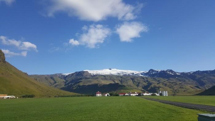 Farm unterhalb des Eyjafjallajökull