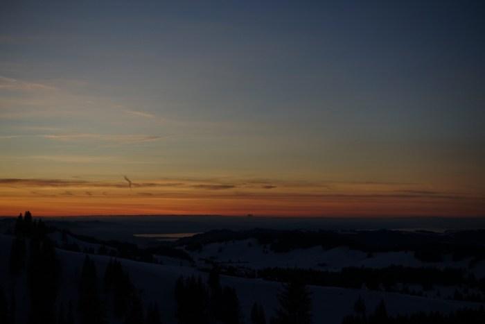 Der Bodensee im Abendrot