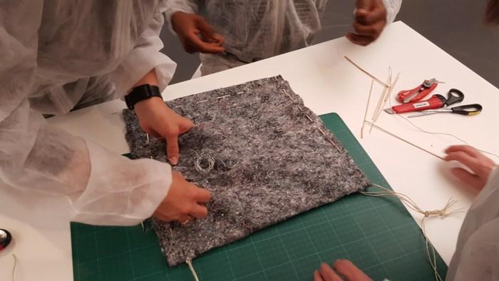 Kreativ sein mit den Beuys Materialien