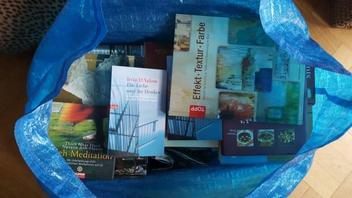 Lieblingsbücher bereits verpackt
