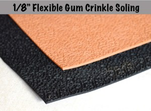 "8"" Flexible Gum Crinkle Soling Sheets Picture"