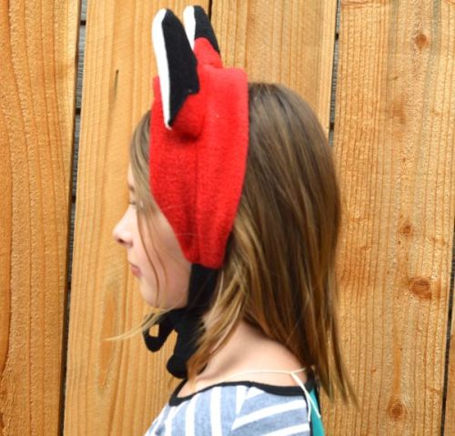 Learn how to sew fox ears for free!