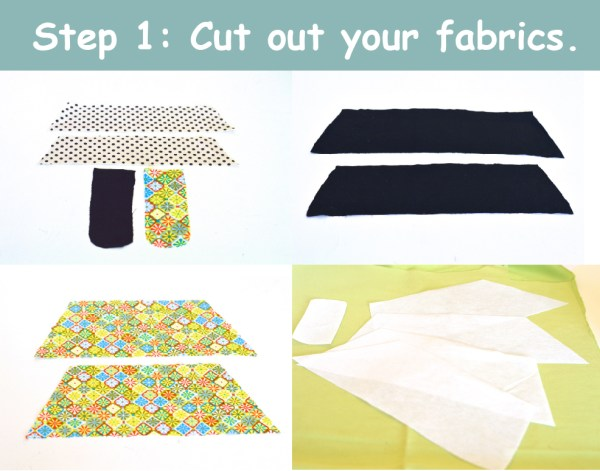 Cut out your fabrics