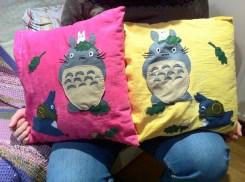 totoro cushions!