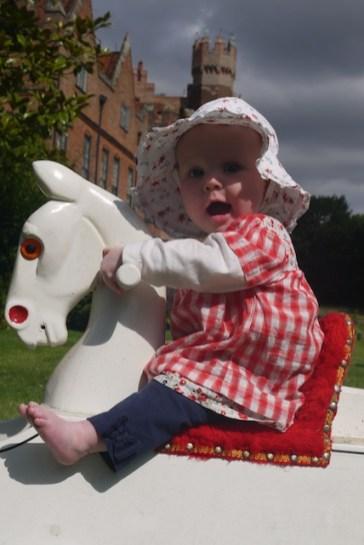 A rocking horse!
