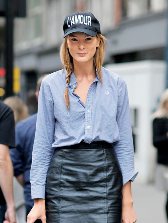 12. Side Braids Top it off with a stylish baseball cap on the weekends.