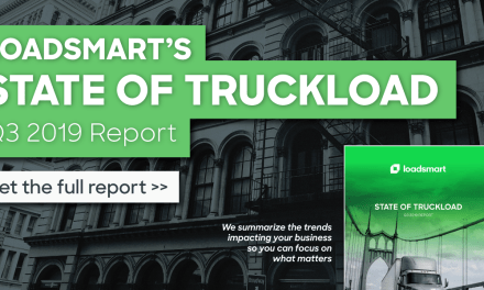 Loadsmart's Q3 2019 State of Truckload