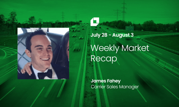 Loadsmart First Look Weekly Market Recap for July 28 – Aug 3.
