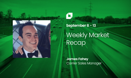 Loadsmart First Look Weekly Market Recap for Sep 8 – Sep 13.