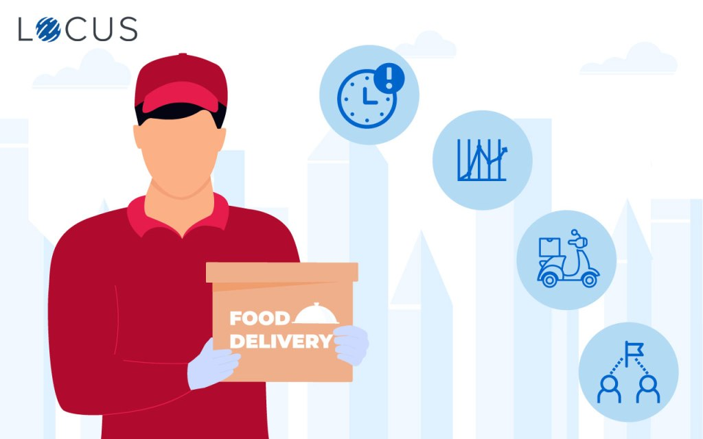 food delivery companies in the last-mile challenges