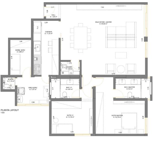 planta-baixa-de-apartamento-loft