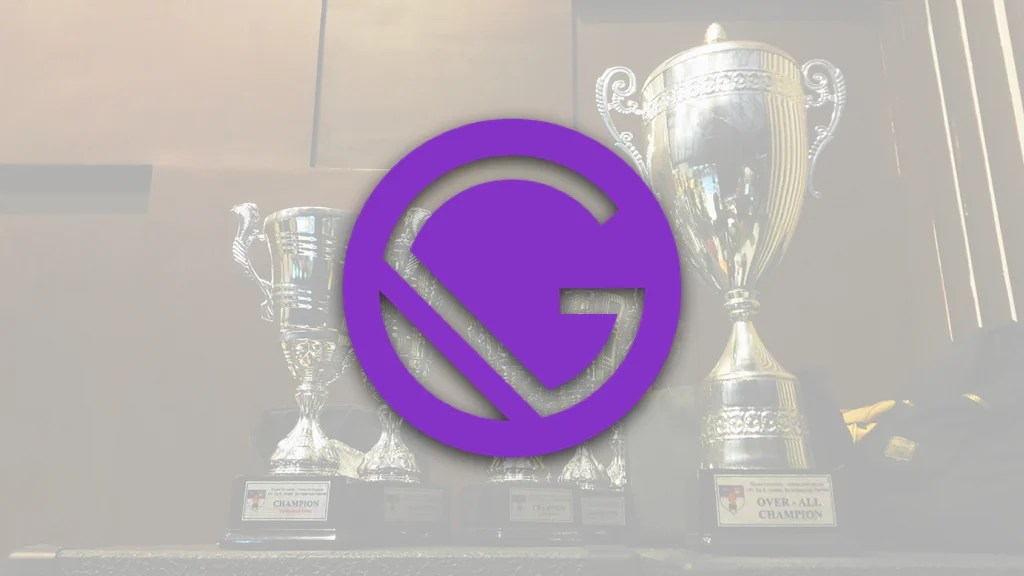 GatsbyJS Logo With Awards