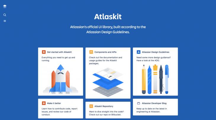 atlaskit home page