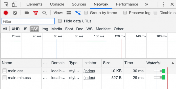 CSS File Comparison In Chrome DevTools