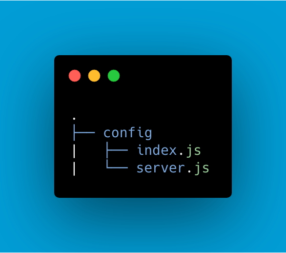 Config Folder And Configuration Files