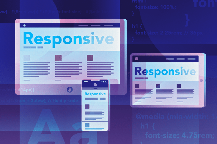 Elements of responsive typography