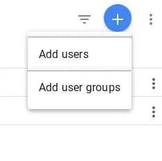 Google Analytics Add Users Option