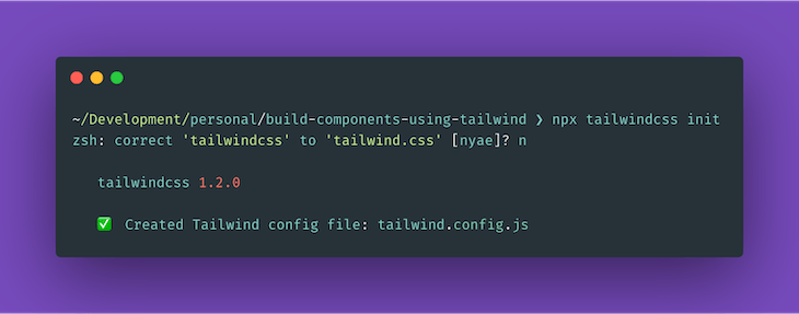 Generating A Tailwind Config File