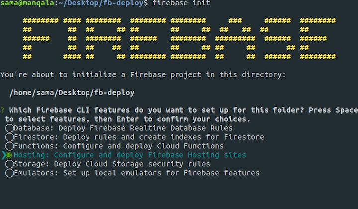 Firebase Project Directory