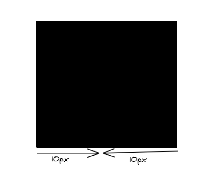 A solid black square with dimensions of 10px.