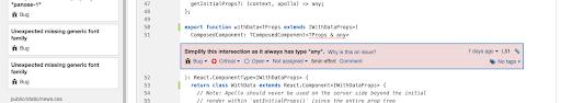 sonarqube typescript