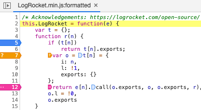 multicolor breakpoints in chrome 85