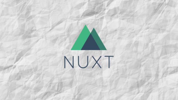 The Nuxt.js logo.