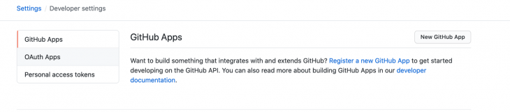 OAuth apps GitHub Issues Authentication
