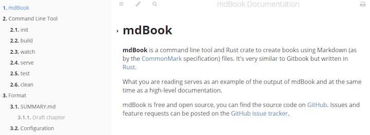 mdBook