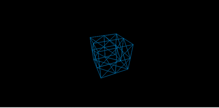 Three.js: Cube Split Into Two Sides
