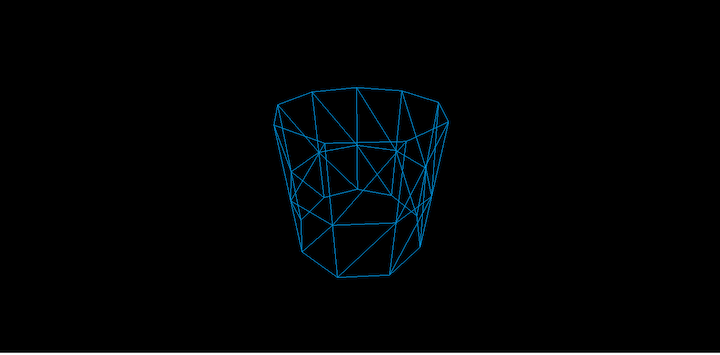 Open-Ended Cylinder in Three.js