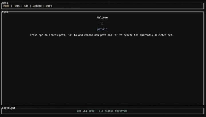 Rust Command-Line Interface Example Built With TUI