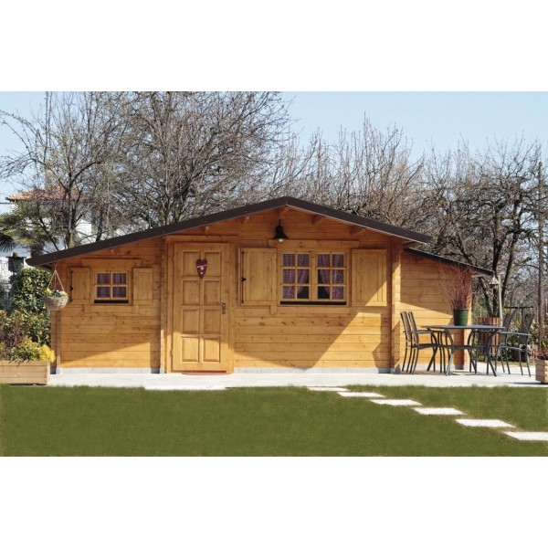 Log Cabin Focus – Ascot Chalet Log Cabin (T24 XL)
