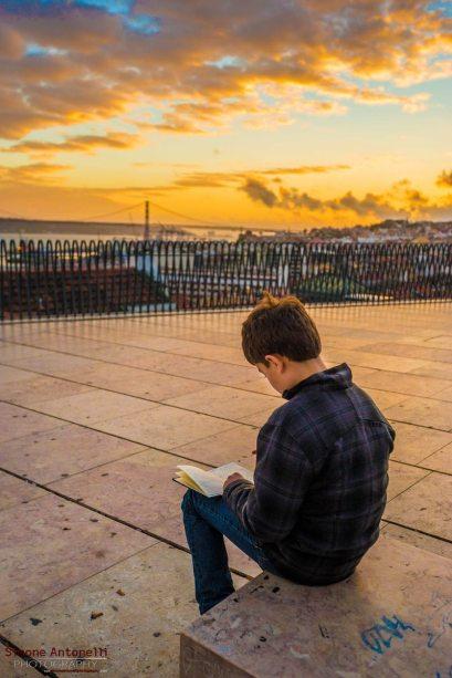 Lisbona tramonto