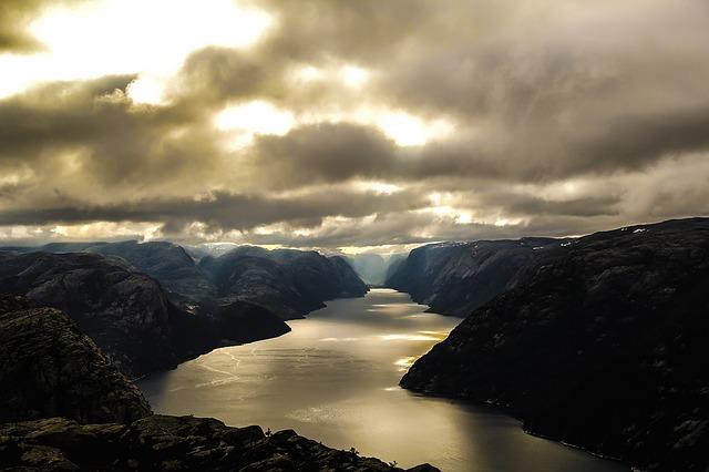 Lysefjord Norvegia fiordi