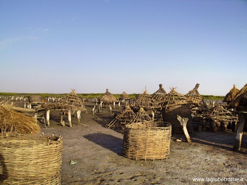senegal africa grénier à mil