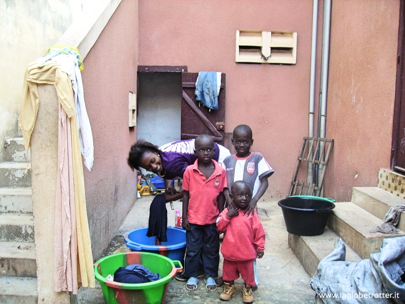 famiglia senegalese