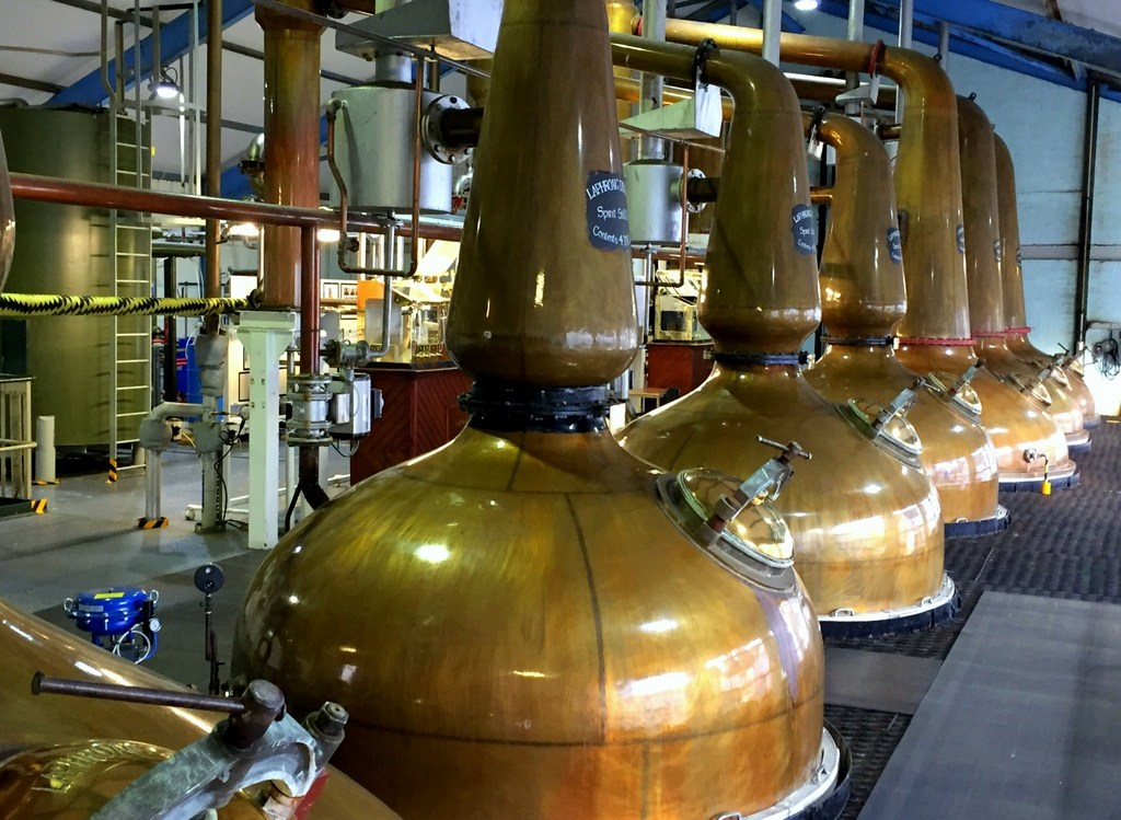 alambicchi distilleria whisky scozia