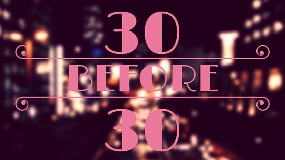 30 rzeczy przed 30