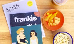 new :: Frankie #71 + Smith Journal Vol. 18