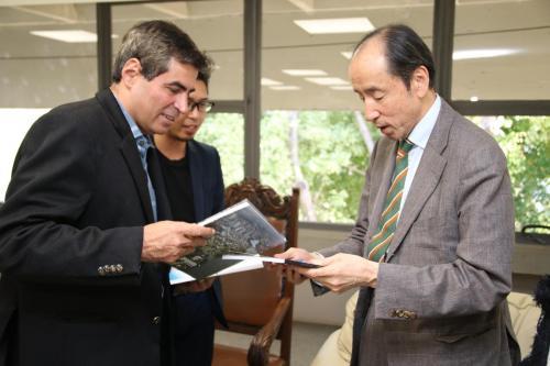 09.07.2019 Visita do presidente da escola japonesa Nippon Academy