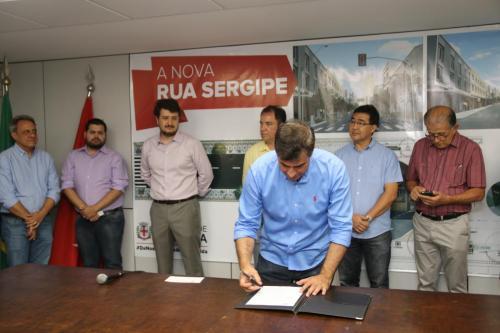 13.09.2019 Ordem de serviço para revitalização da Sergipe