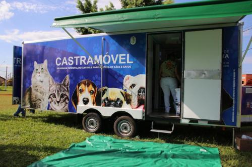 06.03.2020 Castramóvel: Programa Municipal de Controle Populacional de Cães e Gatos