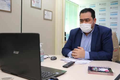 29.05.2020 Prestação de contas da Secretaria Municipal de Saúde - Fotos: Vivian Honorato