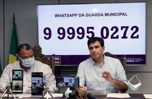 16.06.2020 - Gabinete e GM falam sobre aumento no valor das multas - Fotos: Emerson Dias